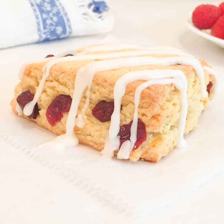 Dried Cranberry And Orange Scones