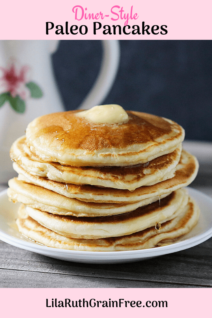 Super Fluffy Grain-Free Pancakes