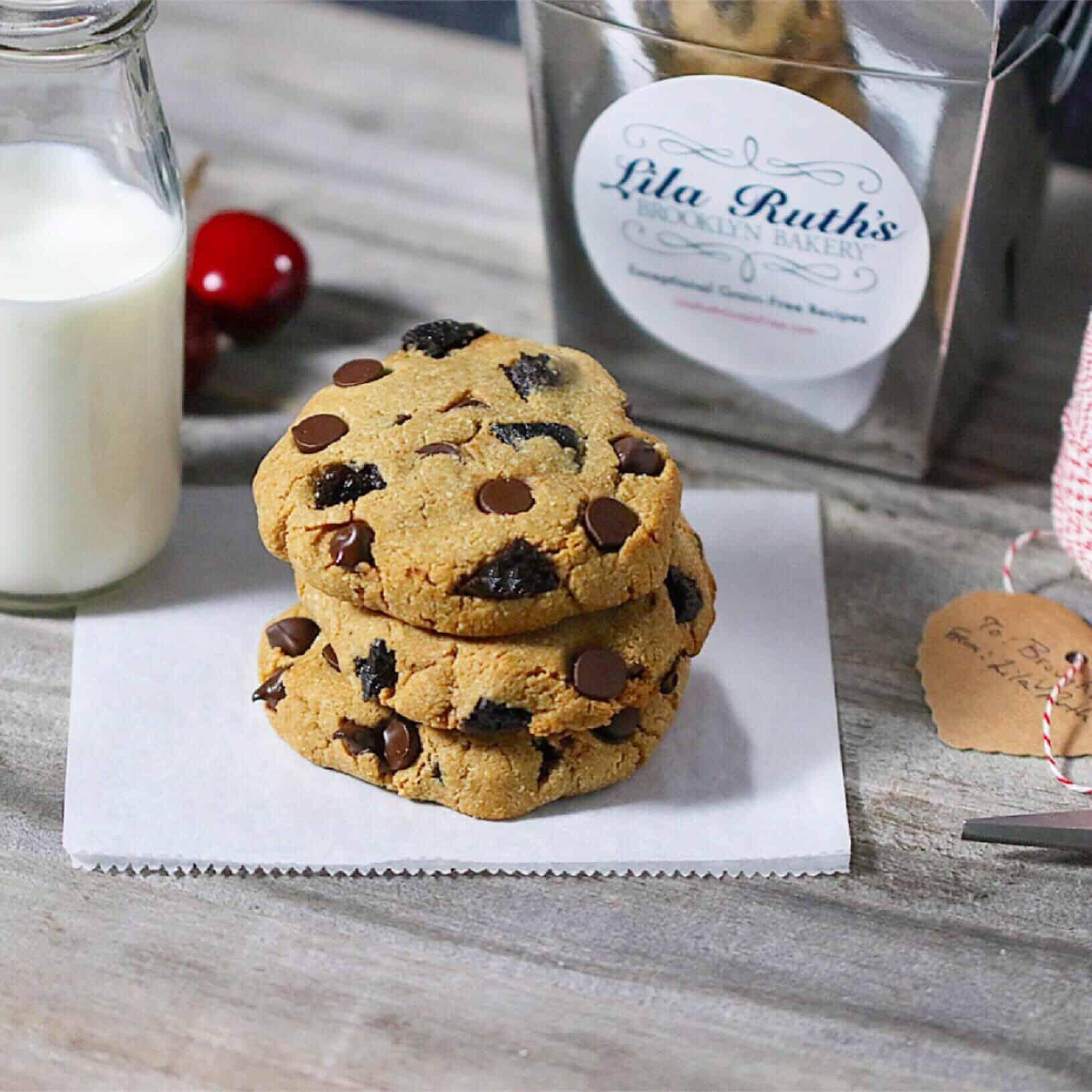 Paleo Chocolate Cherry Cookies - Lila Ruth Grain Free