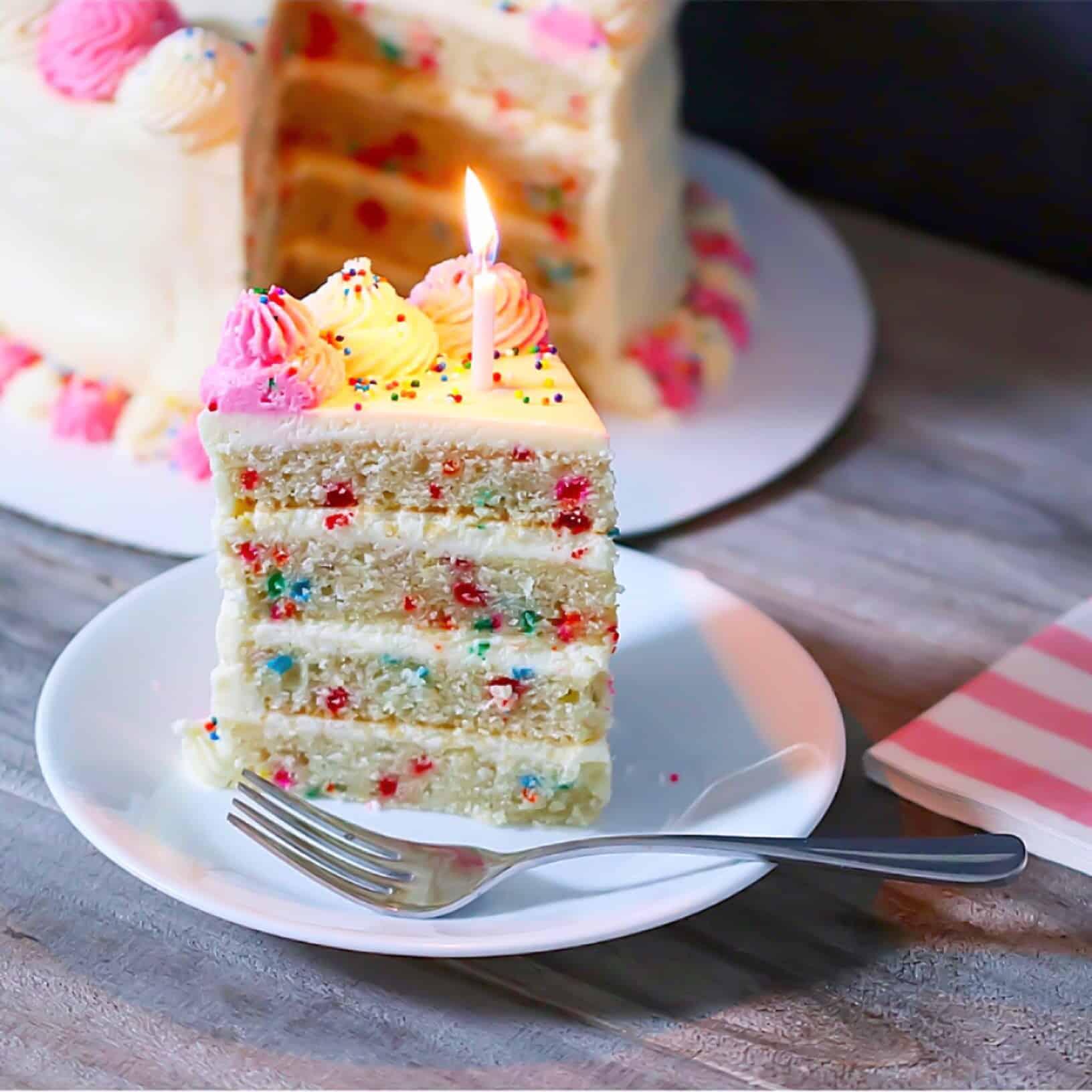 Grain-Free Funfetti Cake