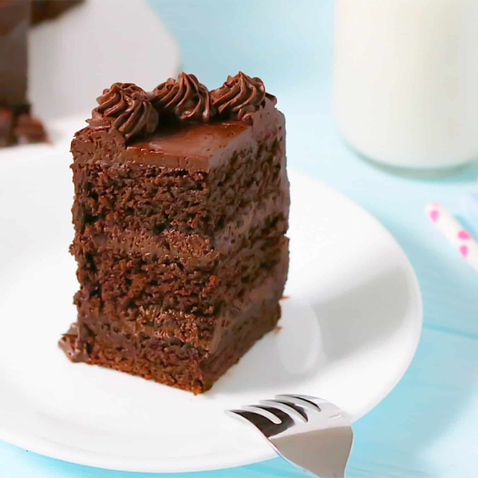 Order a cake bliss chocolate cakes - Rich Moist Devil S Food Cake Layers Dressed In Heavenly Chocolate Frosting I Guarantee This Cake Won T Make It Past Dessert They Ll Be No