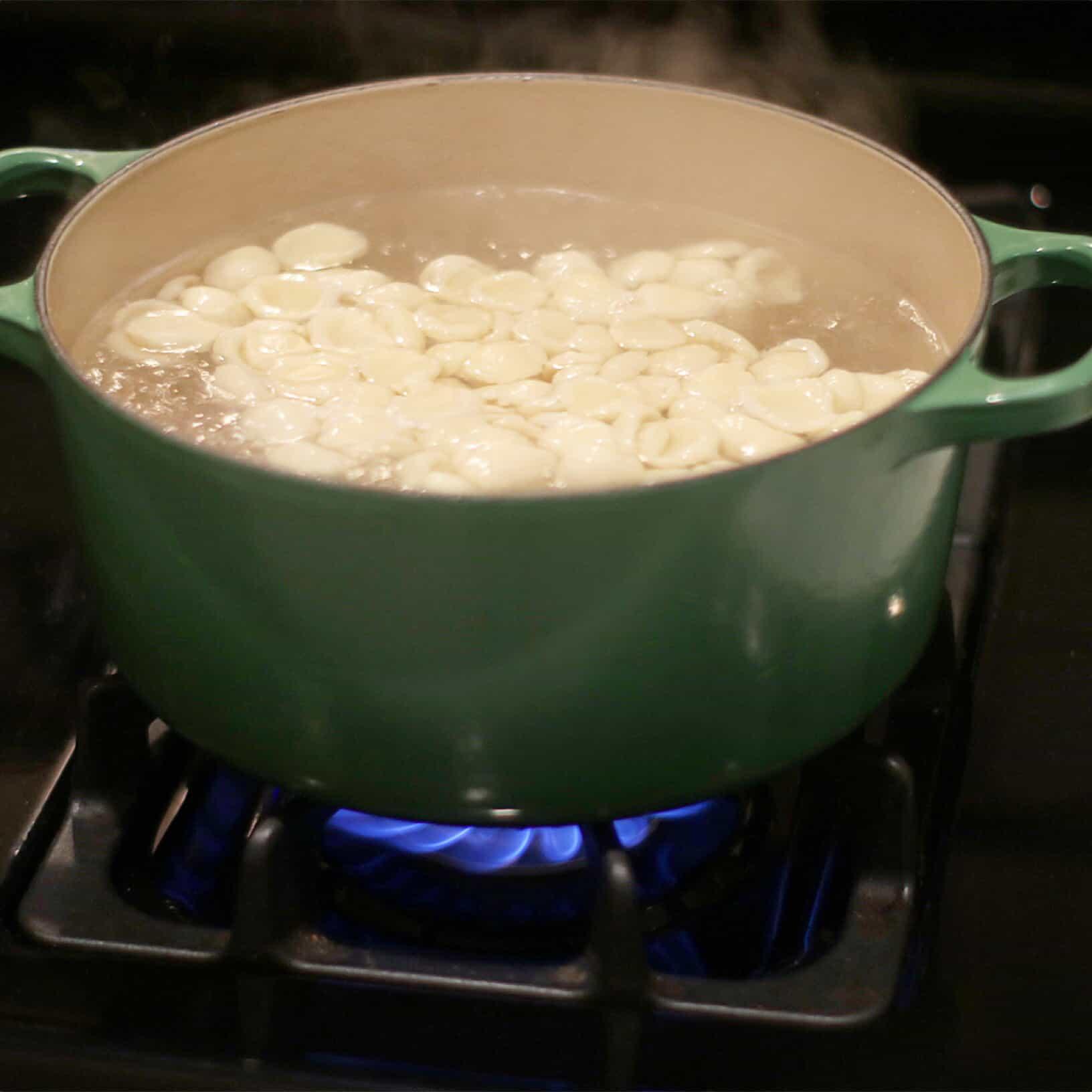 GF Pasta boil