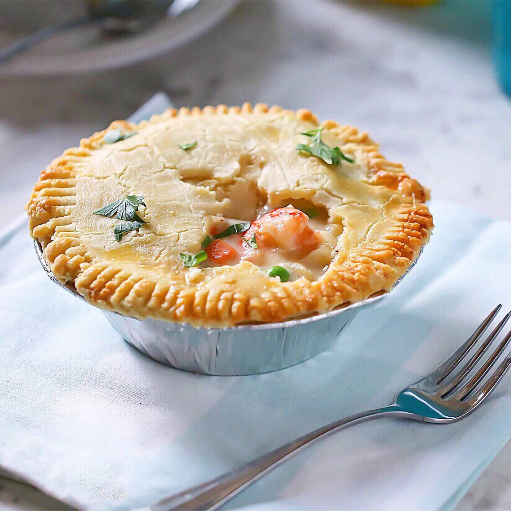 GF Seafood Pot Pie