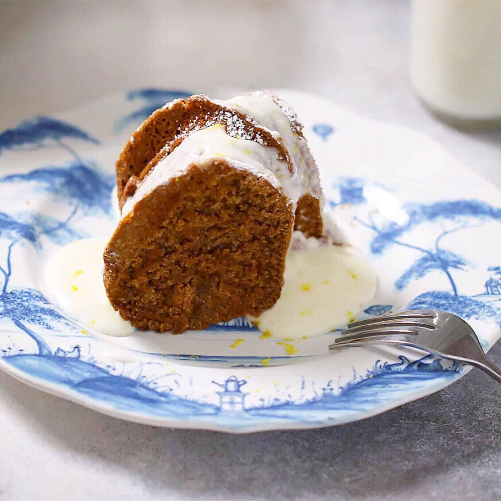 Grain-Free Molasses Cake 1