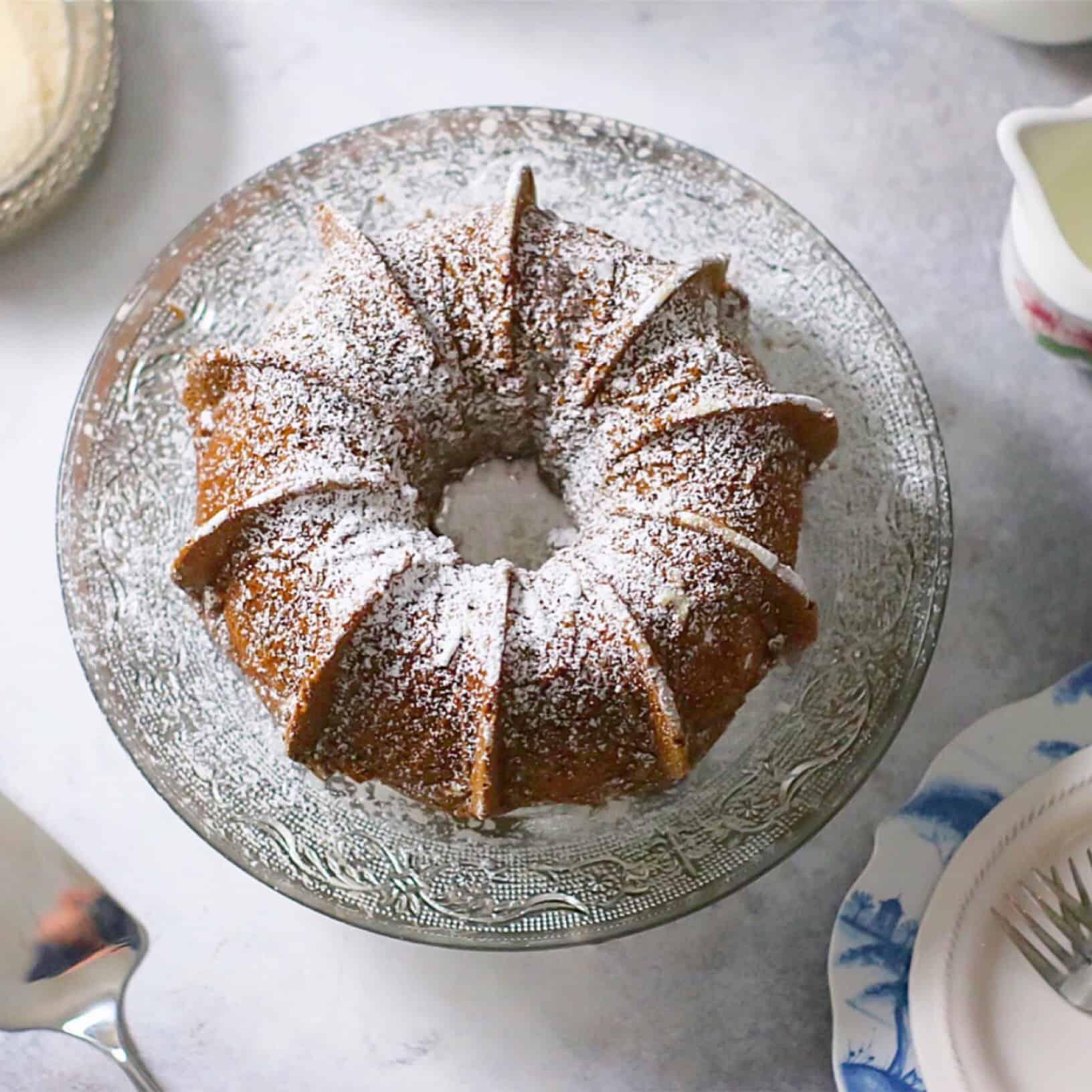 Grain-Free Molasses Cake