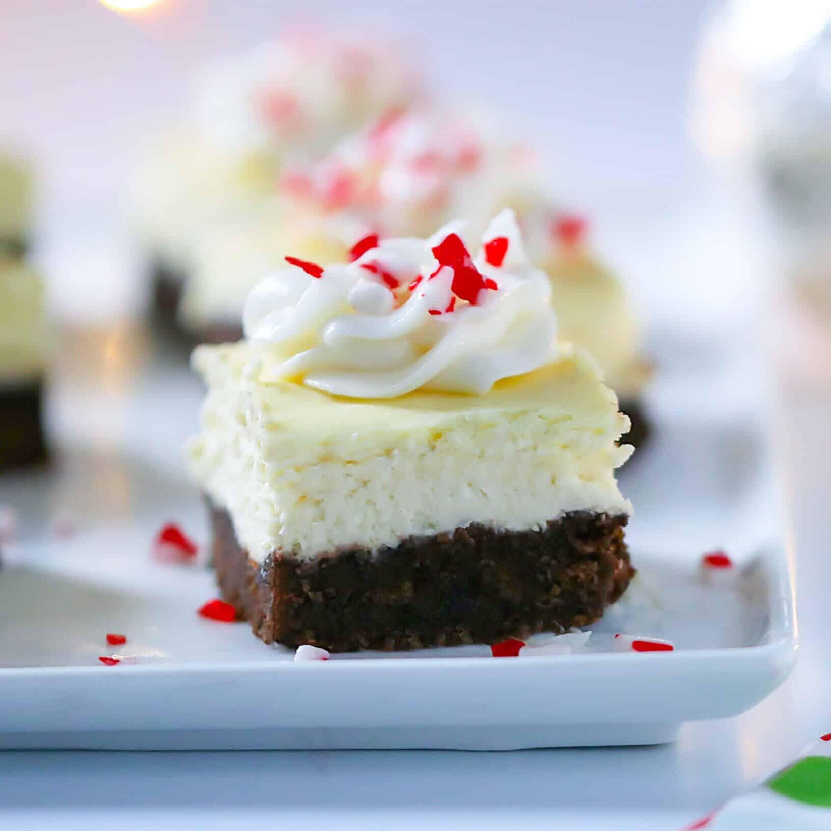Peppermint Chocolate Cheesecake Bites - Lila Ruth Grain Free