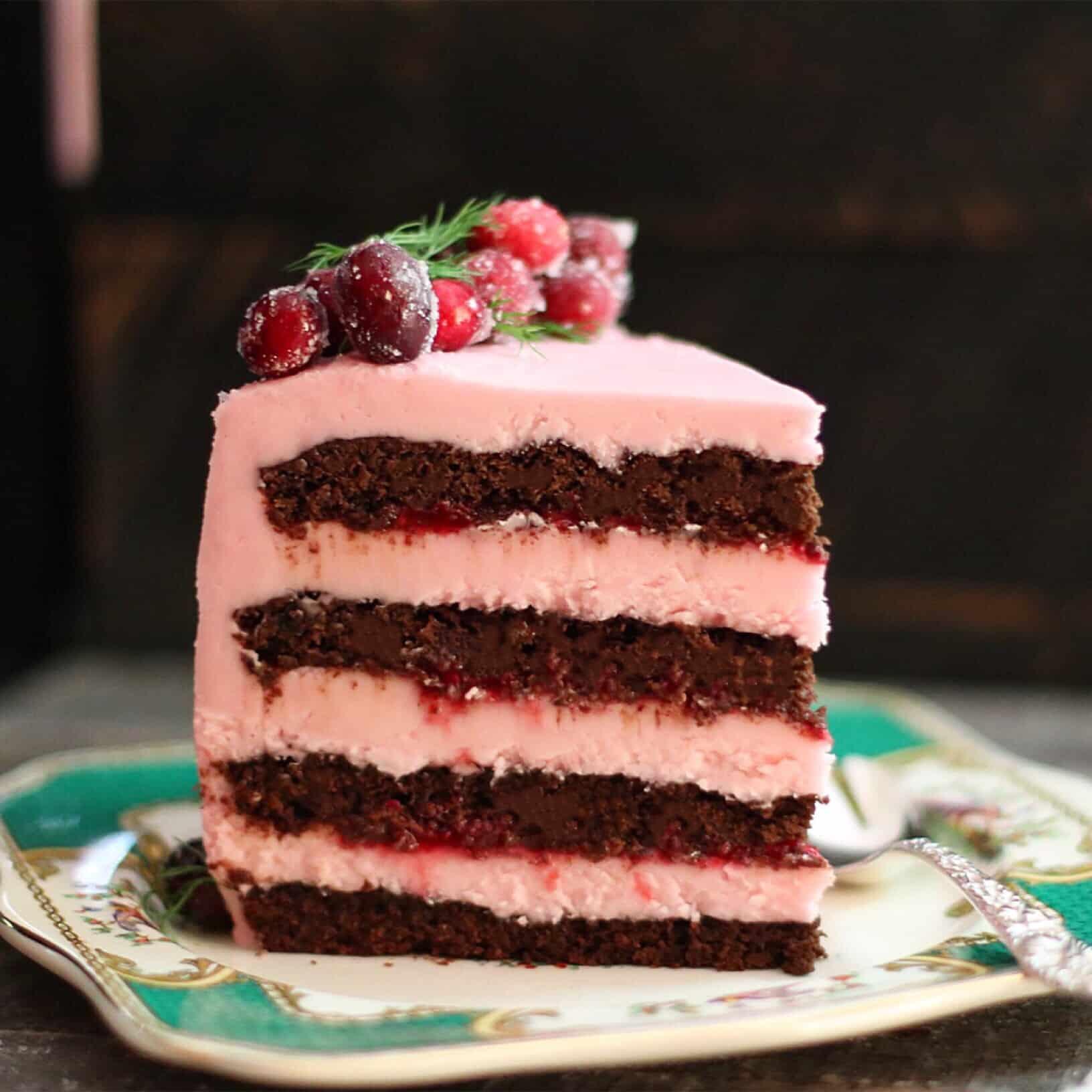 GF Choc Cran Cherry Cake main 2