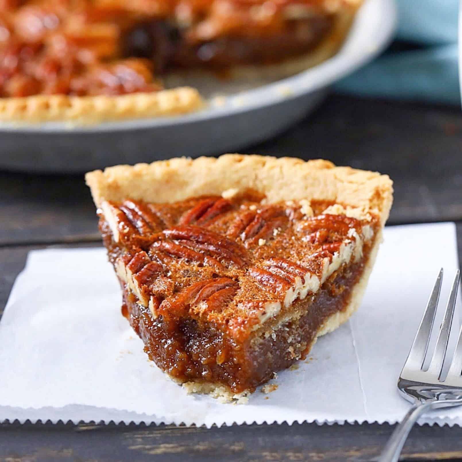 Paleo Pecan Pie