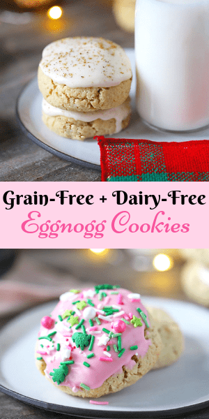 Eggnog Cookies Grain-Free, Gluten-Free
