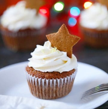 SCD Gingerbread Cupcakes