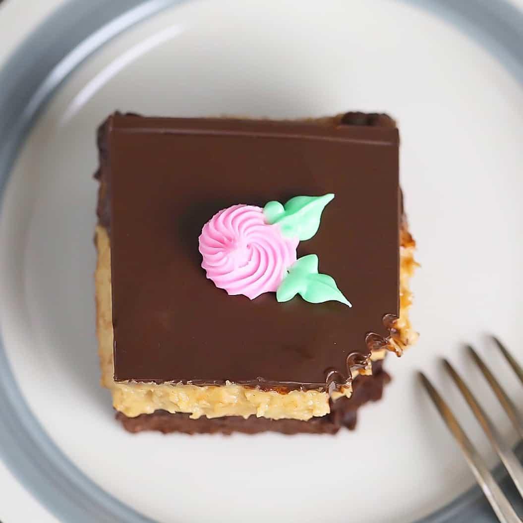 Keto Peanut Butter Brownie Cake