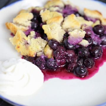 Paleo + SCD Blueberry Cobbler
