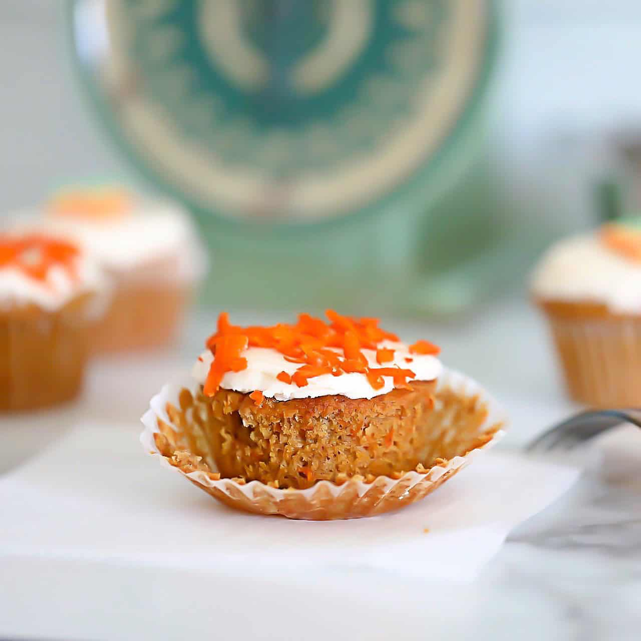 Keto Carrot Muffin Unwrapped