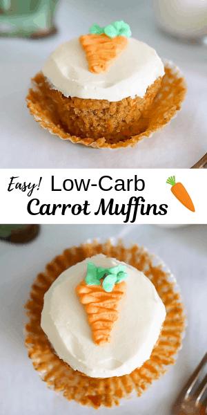 keto carrot muffins