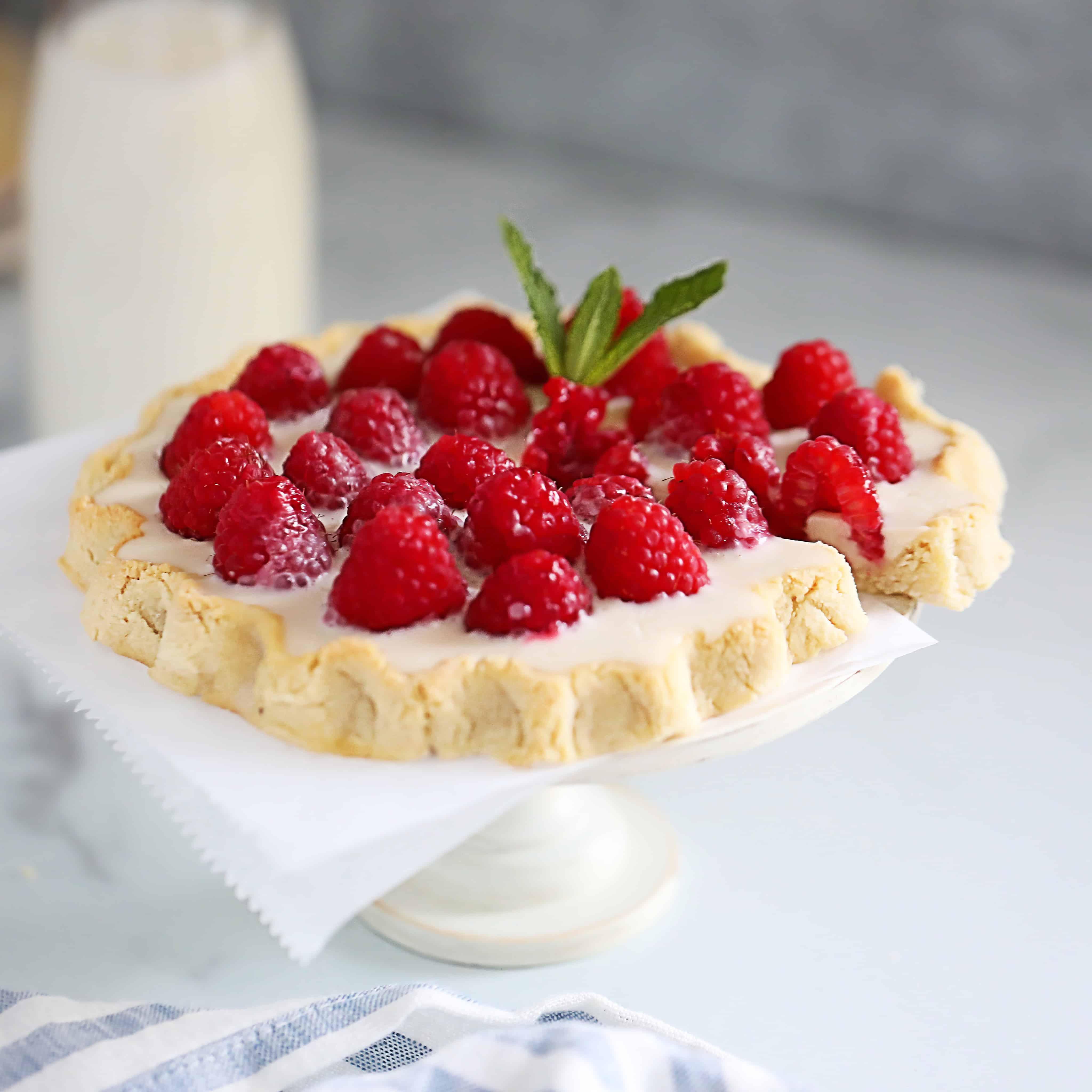 SCD/Paleo Raspberry Tartelettes