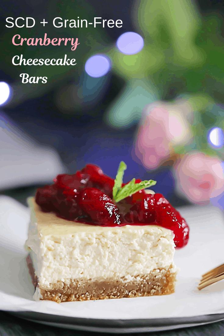 SCD Cranberry Cheesecake