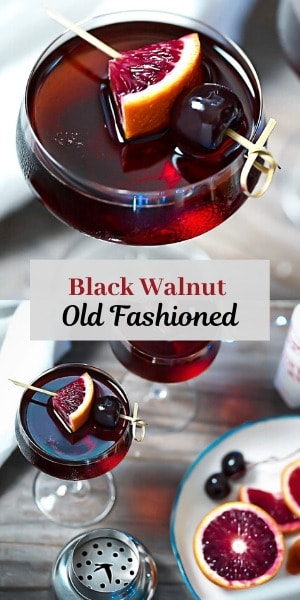 Old Fashioned with Black Walnut Bitters