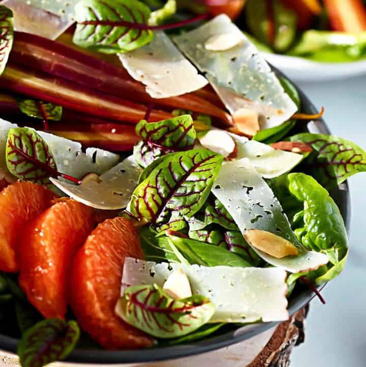 Winter Salad Closeup