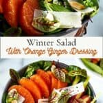 Winter Salad Pinterest Pin