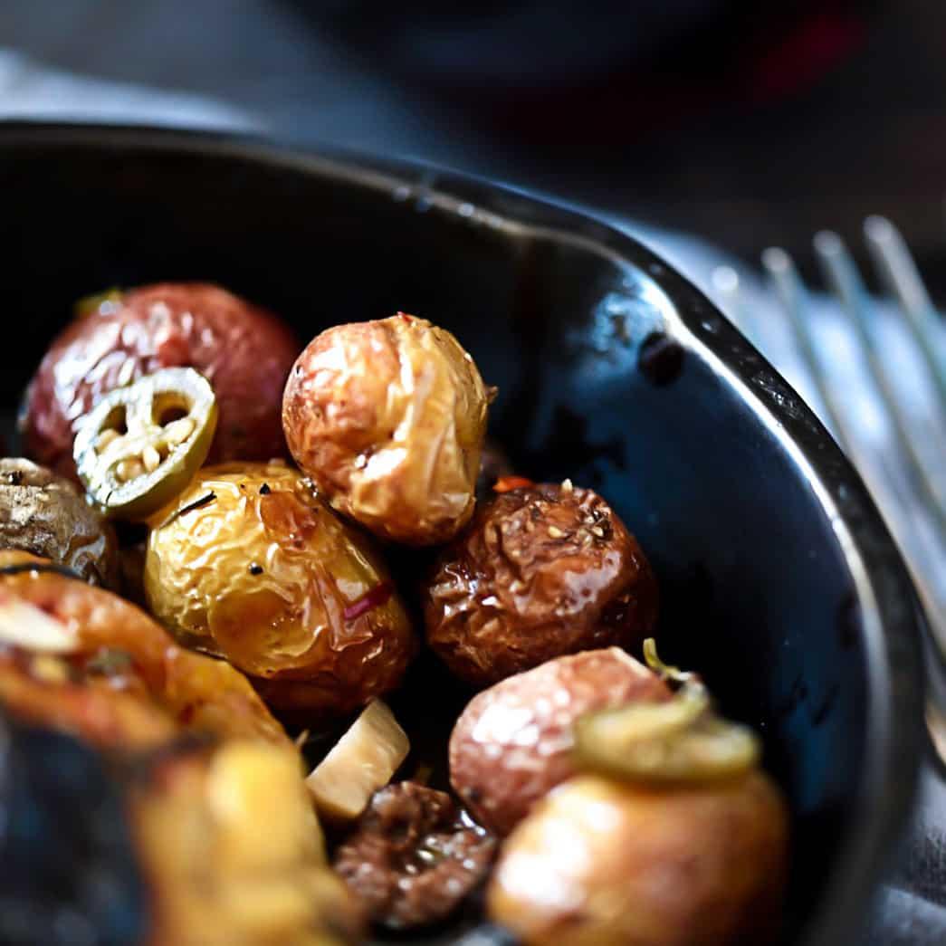 rustic potatoes