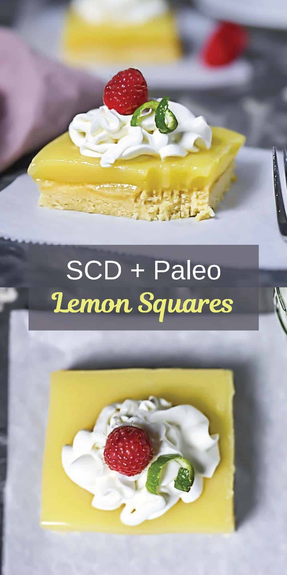 SCD Lemon Square Recipe Pin