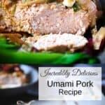 Umami Pork Pinterest Pin