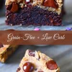 Keto Cookie Bar Pin