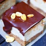 PB Cheesecake Square Pin For Pinterest