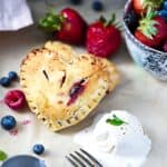 SCD Hand Pies with mixed berries and mint