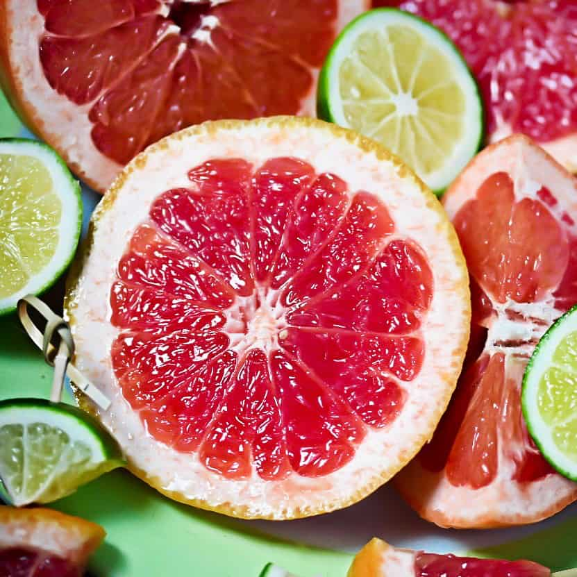 Grapefruits and Limes