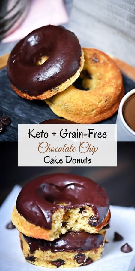 Keto Cake donut recipe Pin