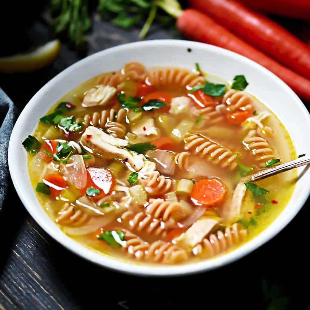 SCD Chicken Pasta Soup