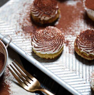 Keto Tiramisu Cake Bites