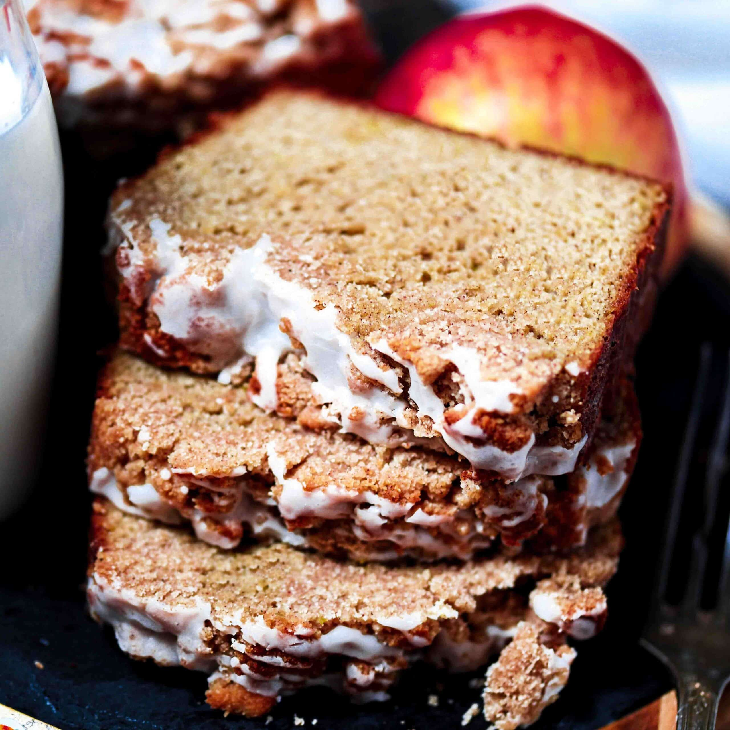 Grain-Free Apple Cobbler Bread