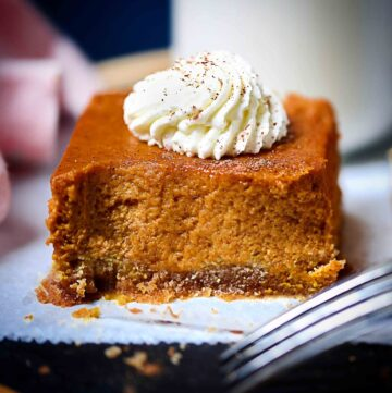 Low-Carb Pumpkin Bars