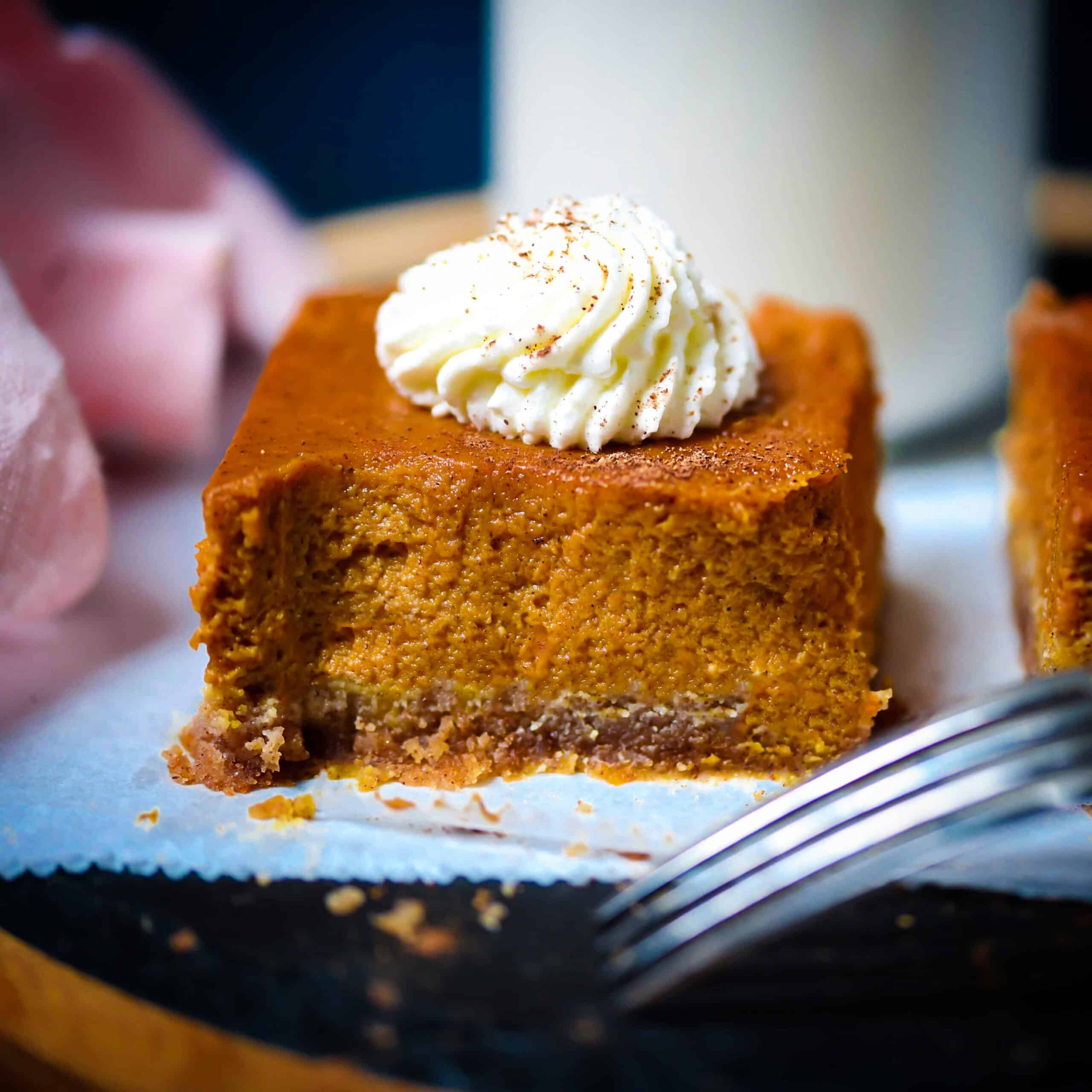 Low-Carb Pumpkin Squares