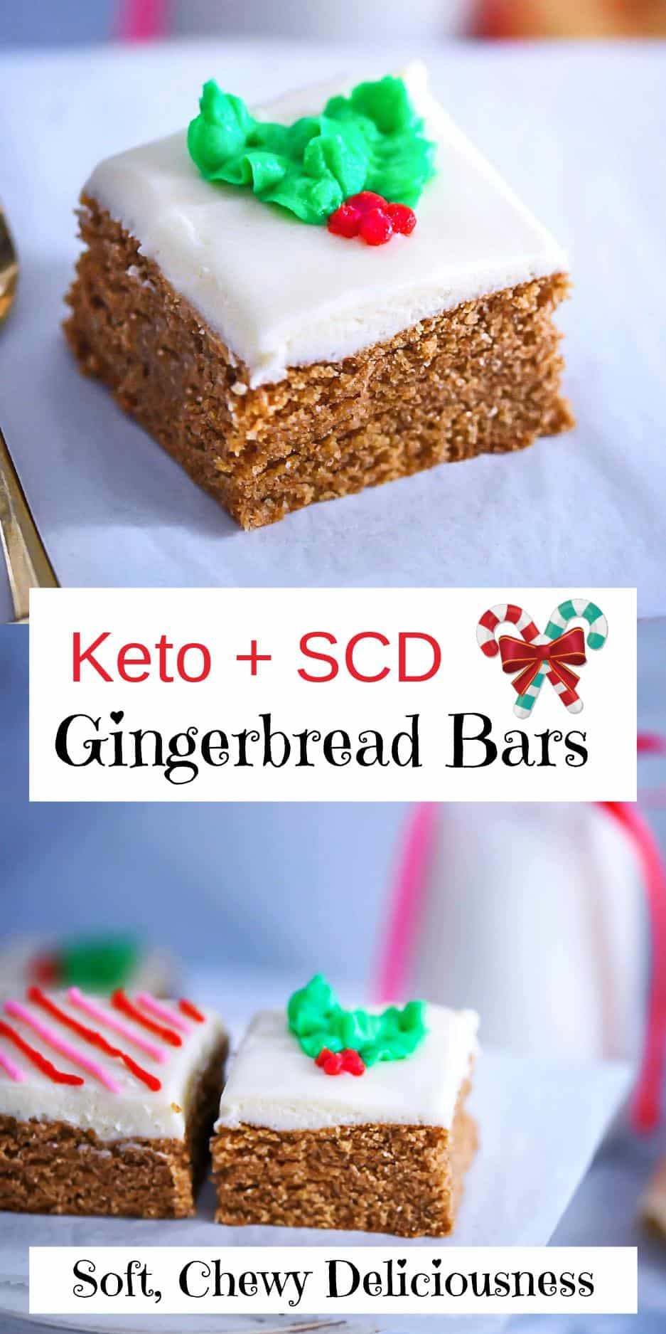 Gingerbread Squares Pin