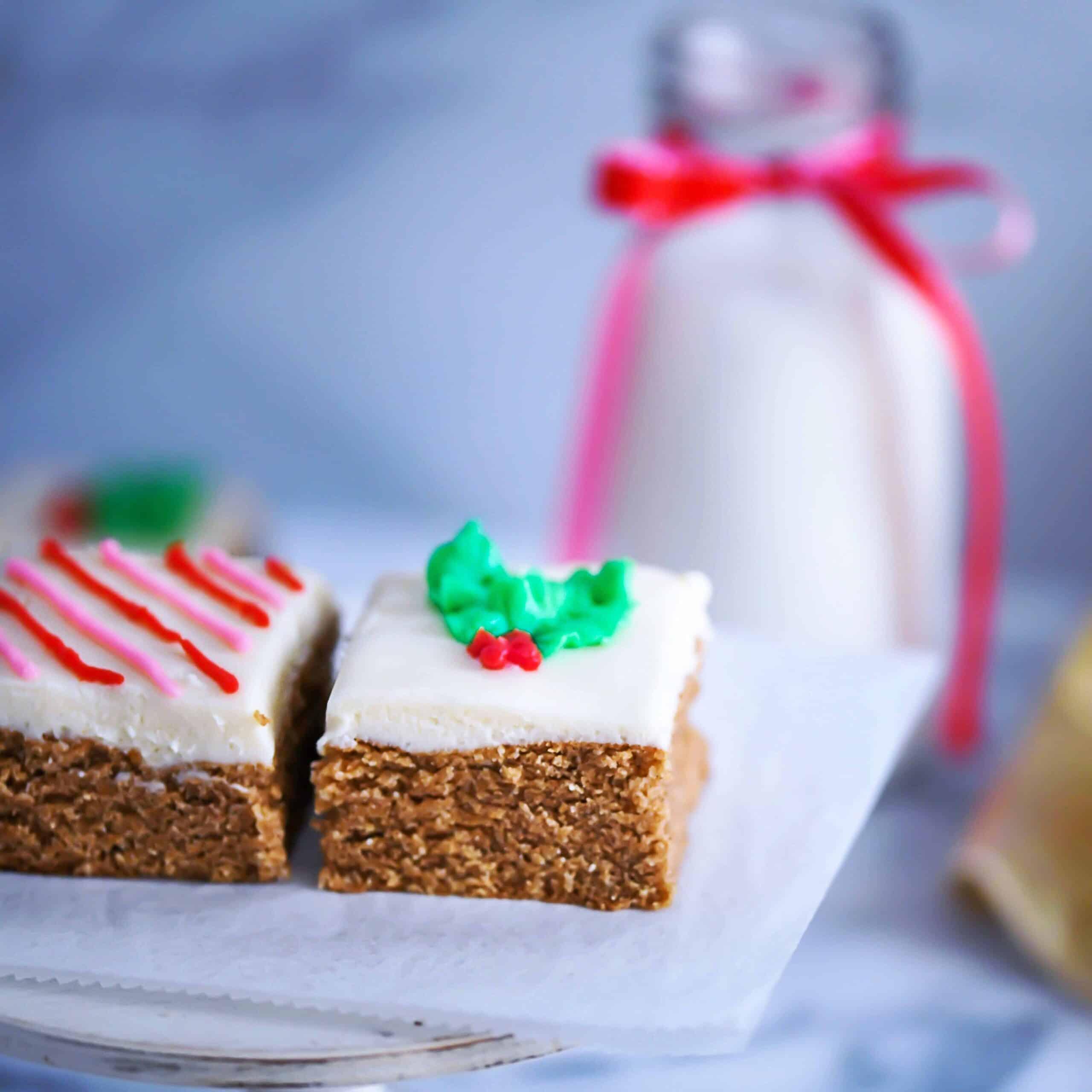 Gluten-free, sugar-free gingerbread