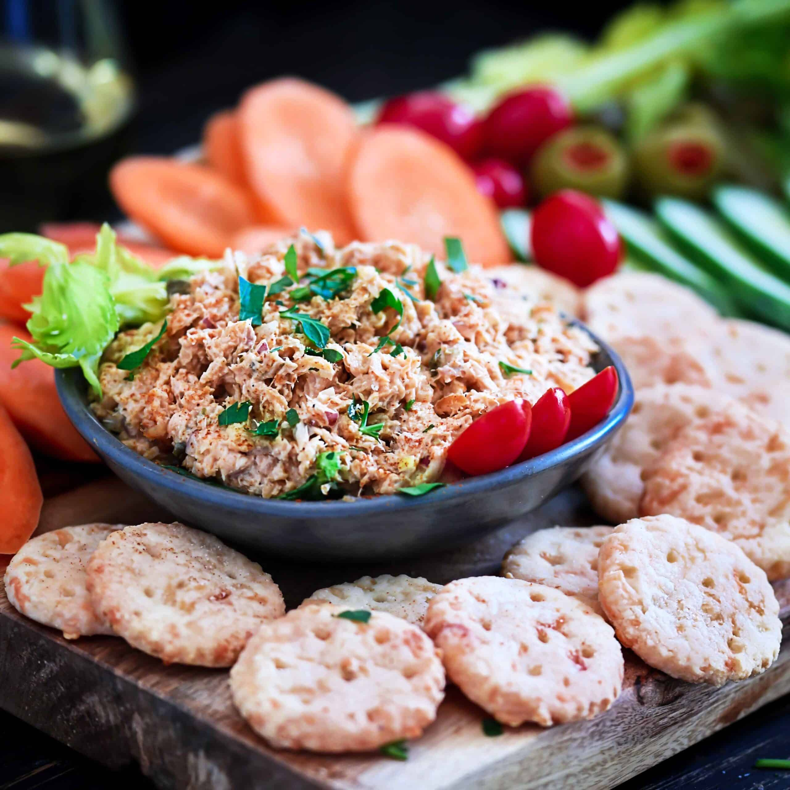 Spicy Smoked Trout Dip