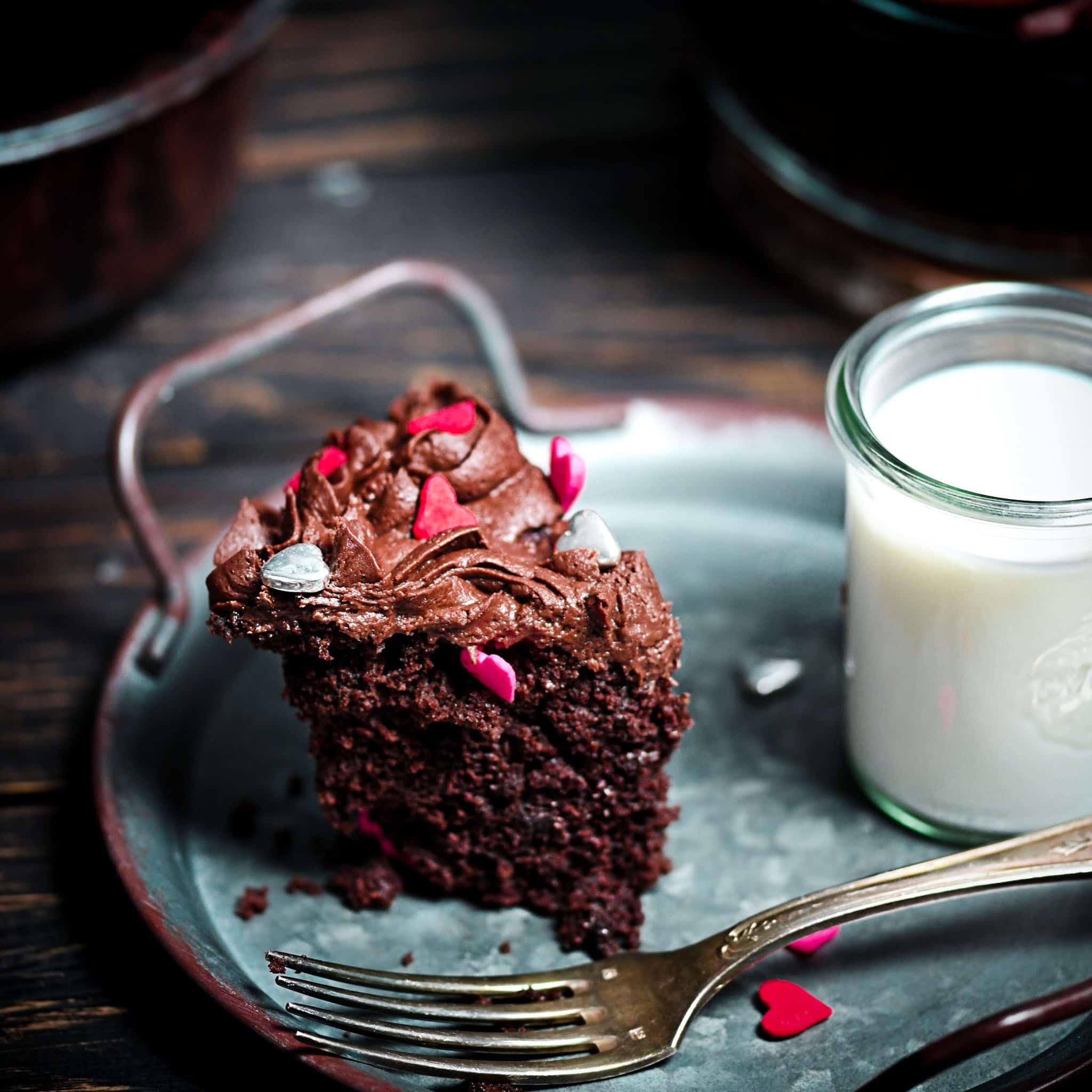 Grain-Free Microwave Cake With Sprinkles
