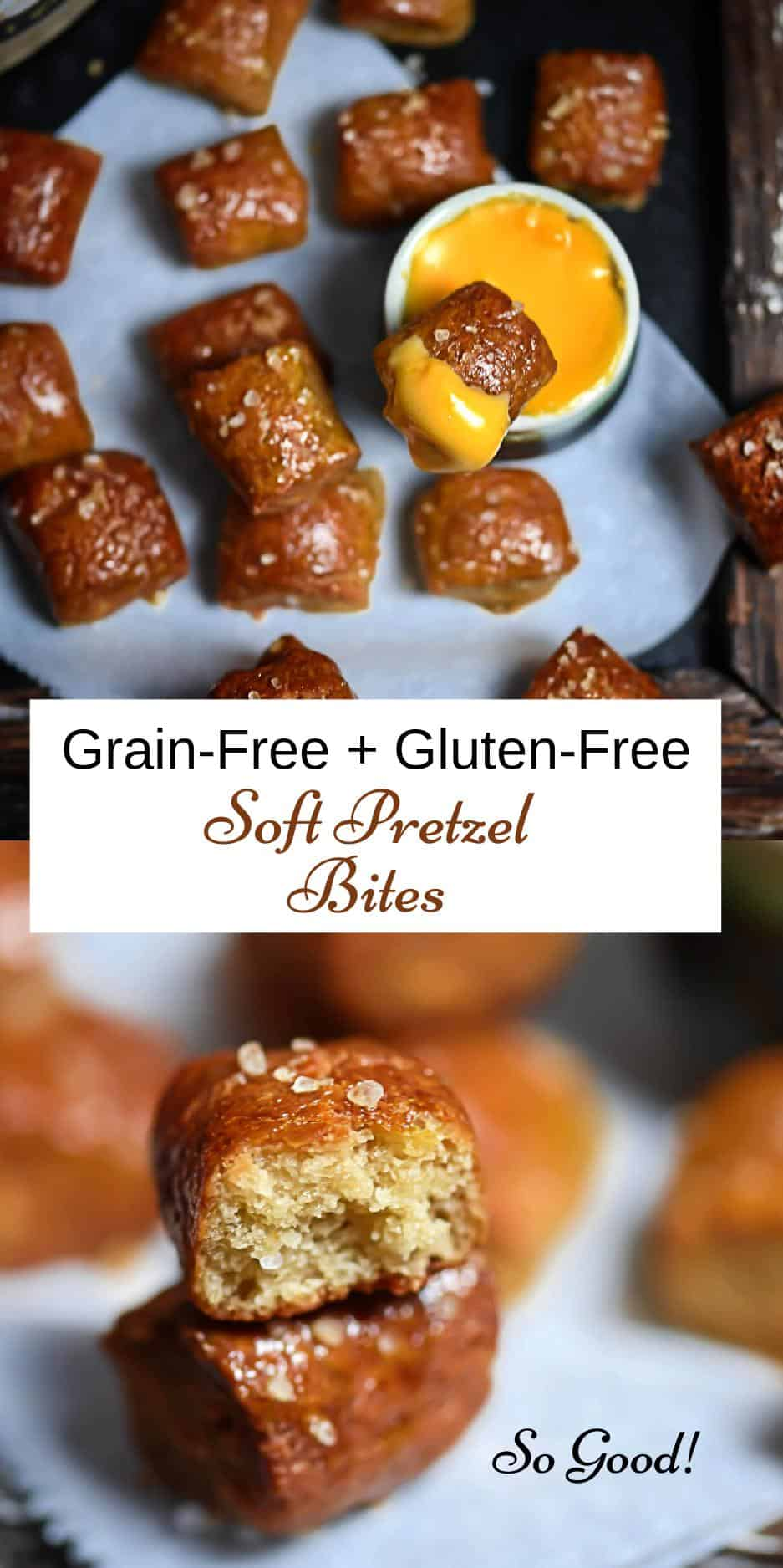 Grain-Free Pretzel Bite Pin