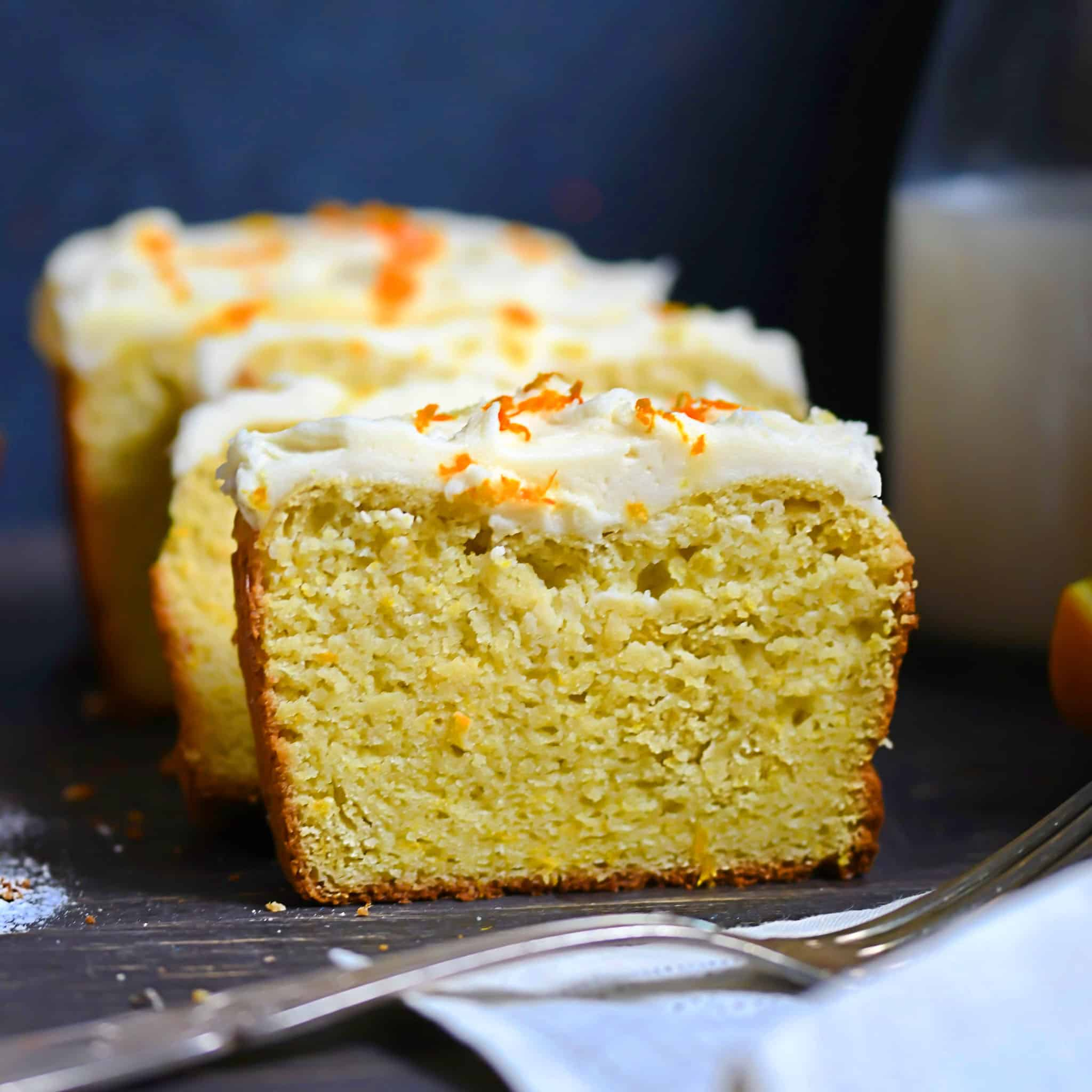 Low-Carb, Gluten-Free Orange Loaf