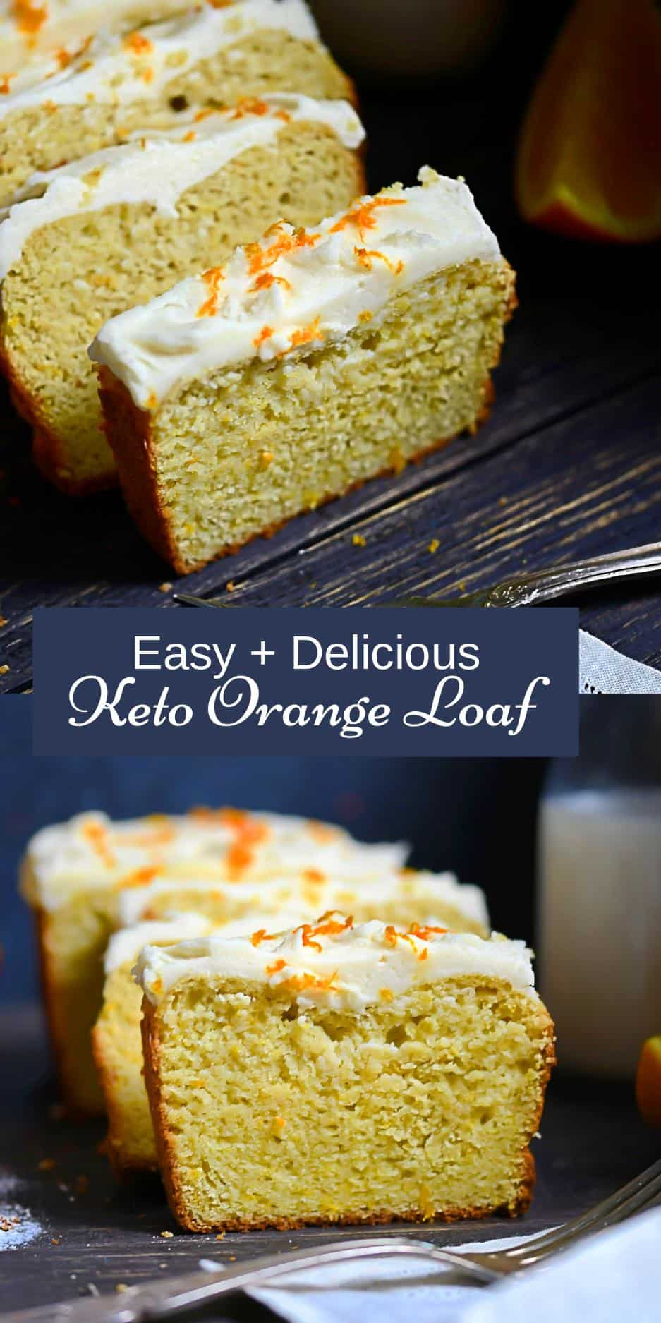 Dairy-Free Orange Cake Pin