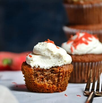 SCD Carrot Cupcakes With Frosting