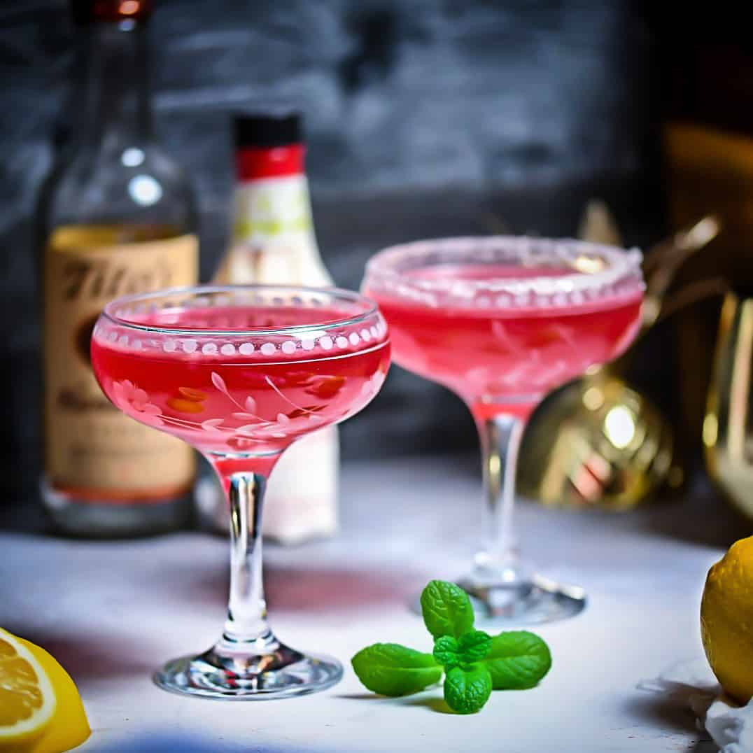 Cranberry Lemon Cocktail