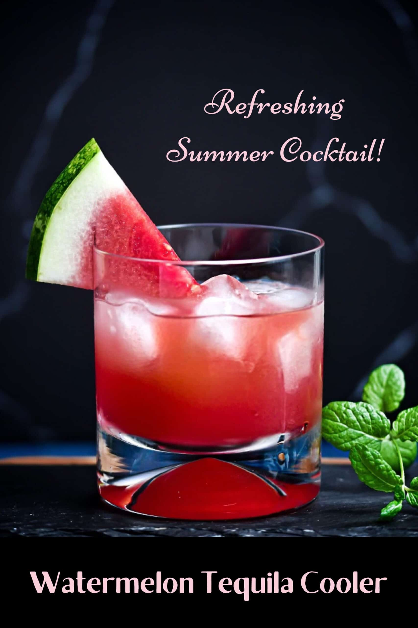 Watermelon Tequila Cooler Pin